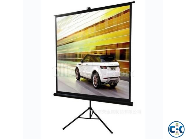 Tripod Projection Screen 96 x 96 | ClickBD large image 0