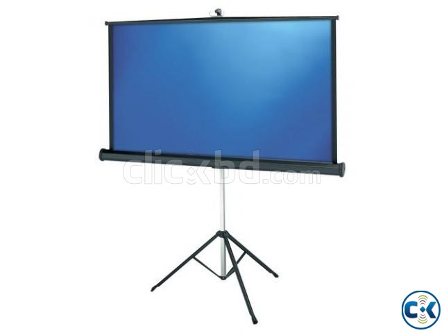 Tripod Projection Screen 96 x 96 | ClickBD large image 1
