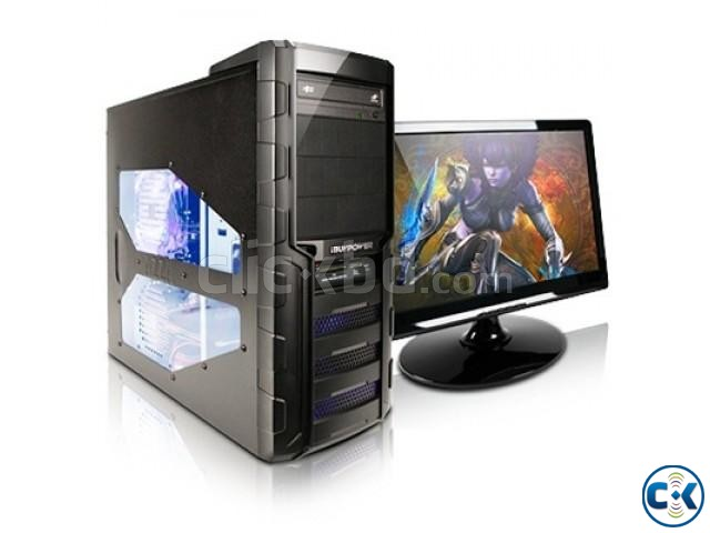 Desktop PC Intel Core i5 4GB RAM Samsung 22 Curved Monitor | ClickBD large image 0