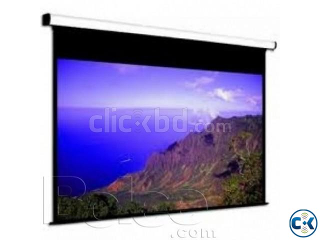 Wall and Ceiling Projector Screen 84 X 84  | ClickBD large image 1