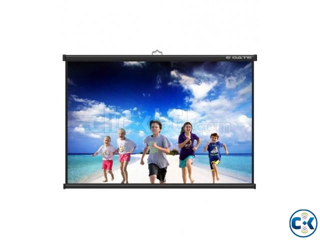 Manual Wall And Ceiling Projector Screen 150  | ClickBD large image 0