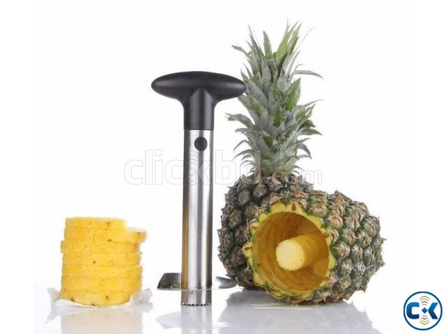 3in1 Heavy Pineapple Corer Slicer Peeler-  | ClickBD large image 2