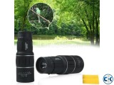 Monocular Zoom Rubber Armored Telescope