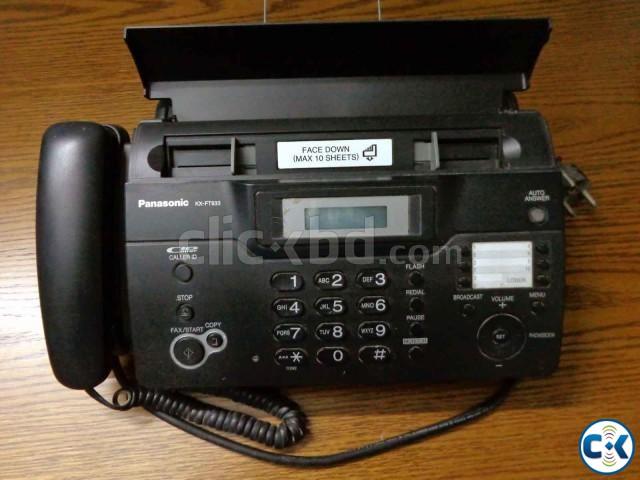 Panasonic Fax KX-FT933 | ClickBD large image 0