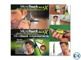 Micro Touch Max hair trimmer.all in one
