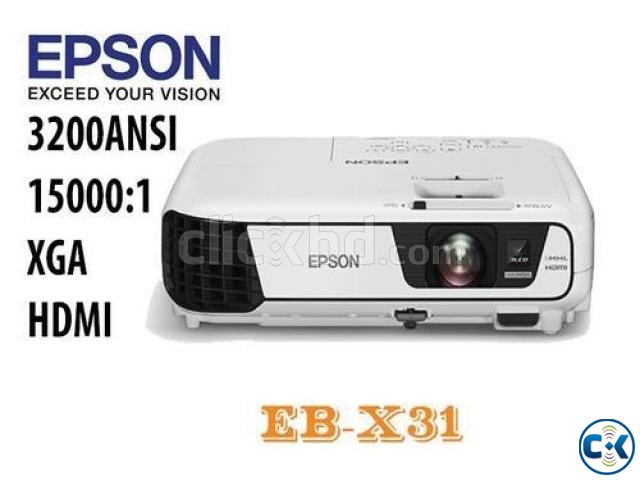 Epson EB-X31 Multimedia LCD Projector | ClickBD large image 0