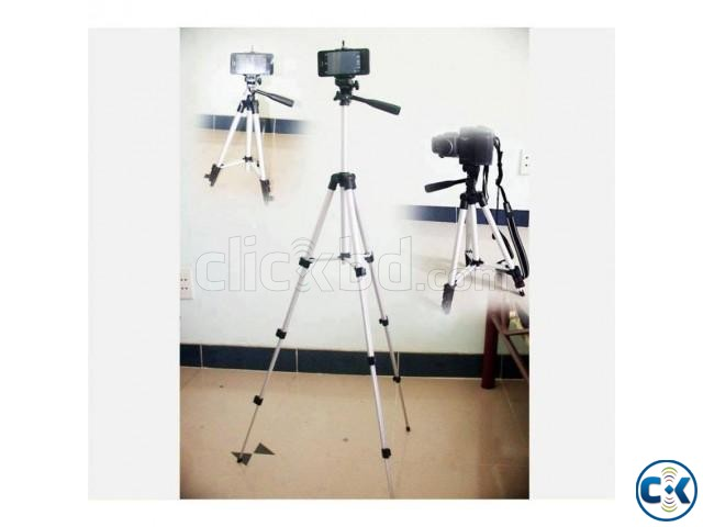 Tripod Camera Stand and Mobile Stand -1PC | ClickBD large image 0