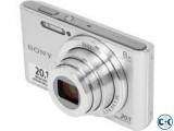 Sony DSC-W830 W Series 20.1MP 8x Zoom Digital Camera