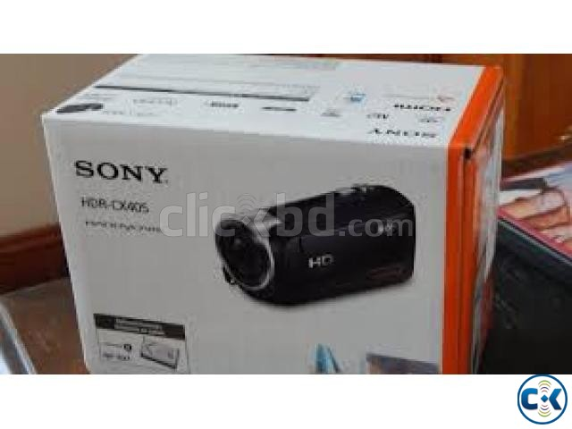 Sony HDR-CX405 HD 60x Zoom Handycam Camcorder | ClickBD large image 2