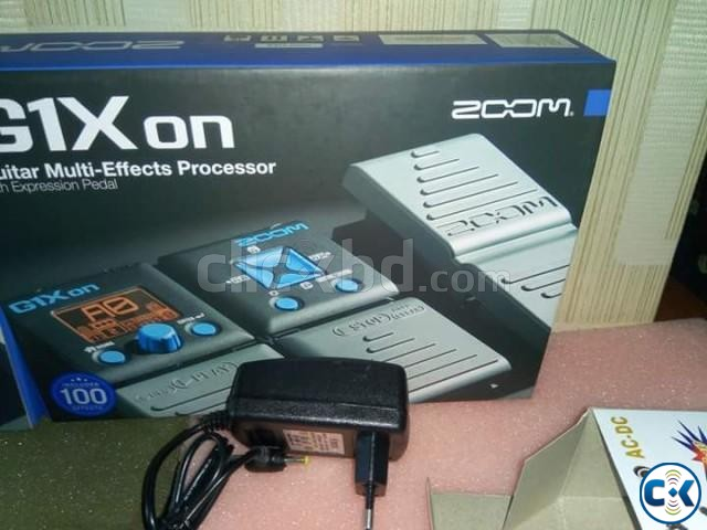 Brand new zoom g1x on guitar prossesor | ClickBD large image 1