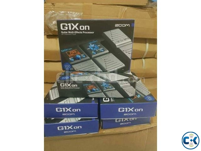 Brand new zoom g1x on guitar prossesor | ClickBD large image 2