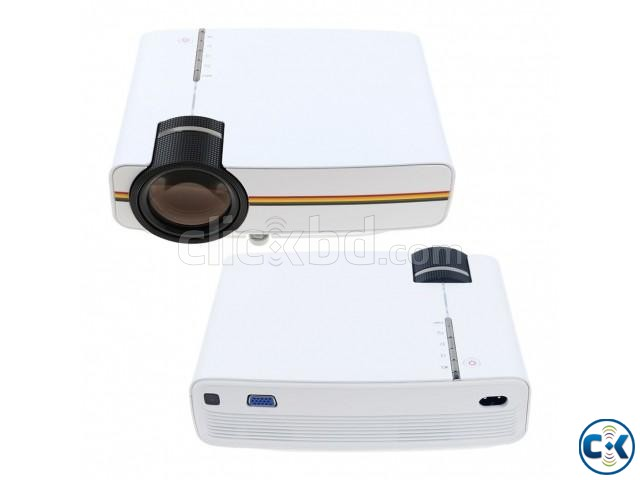 YG-400 Portable Mini LED Projector | ClickBD large image 0