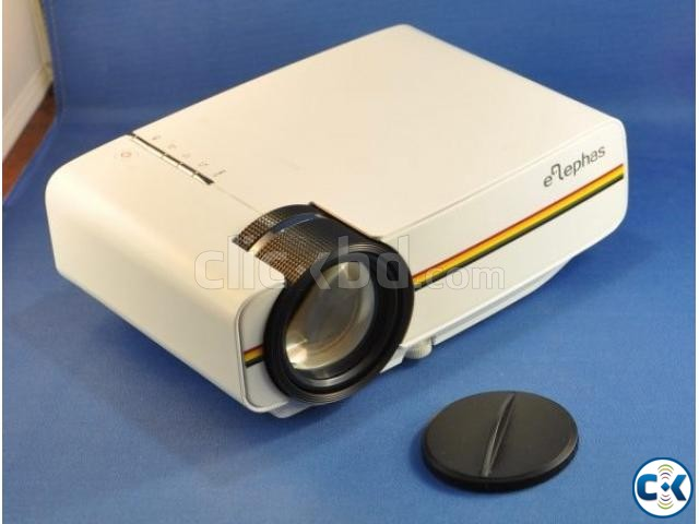 YG-400 Portable Mini LED Projector | ClickBD large image 1