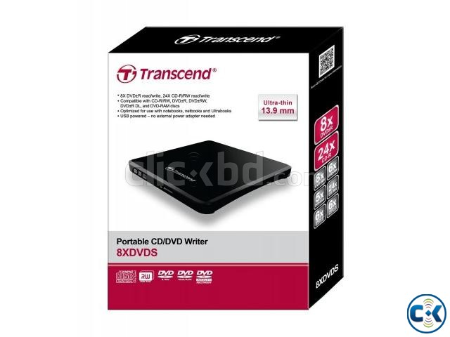 TRANSCEND PORTABLE DVD RW | ClickBD large image 0