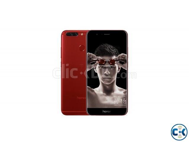 Huawei Honor v9 Red Black Color 128gb Original | ClickBD large image 0
