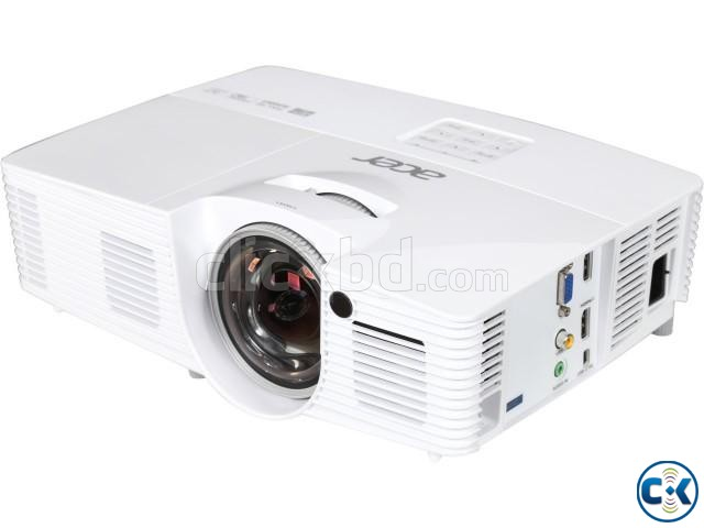 Acer H6517st 1080p Full HD 3D Short Throw Projector | ClickBD large image 0