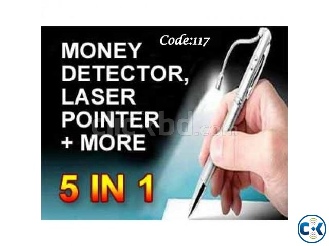 5-in-1 Multifunctional Pen With Exclusive Metal | ClickBD large image 0