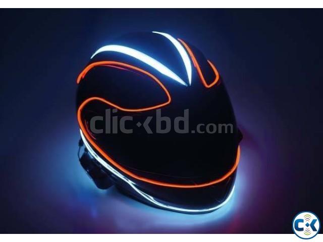 Helmet lighting | ClickBD large image 0
