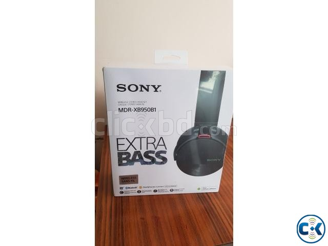 Sony MDR-XB950B1 Bluetooth Headphones 2017 INTACT | ClickBD large image 2