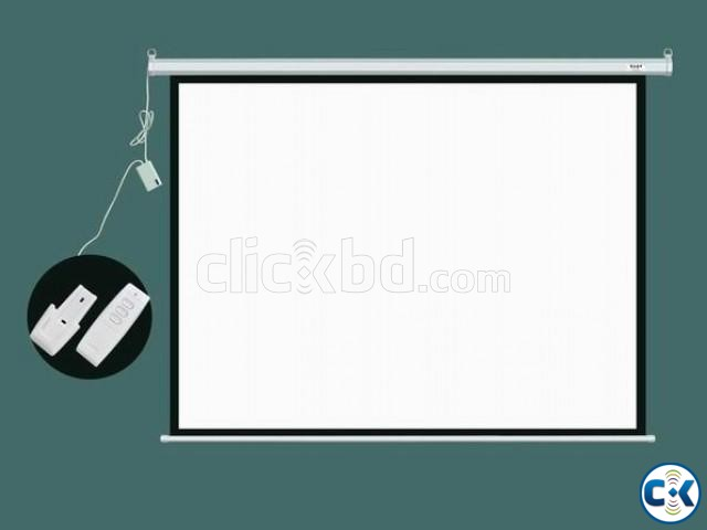 Electric Motorized Projection Screen - 70 x 70 | ClickBD large image 0