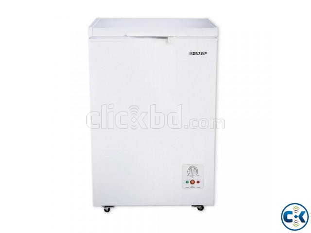 Sharp Deep Freezer SJC-105-WH | ClickBD large image 0