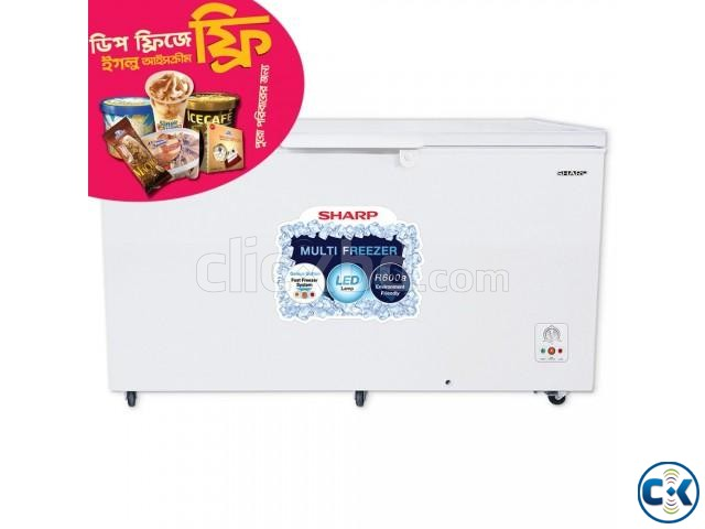 Sharp Freezer SJC-415-WH 492 L | ClickBD large image 1