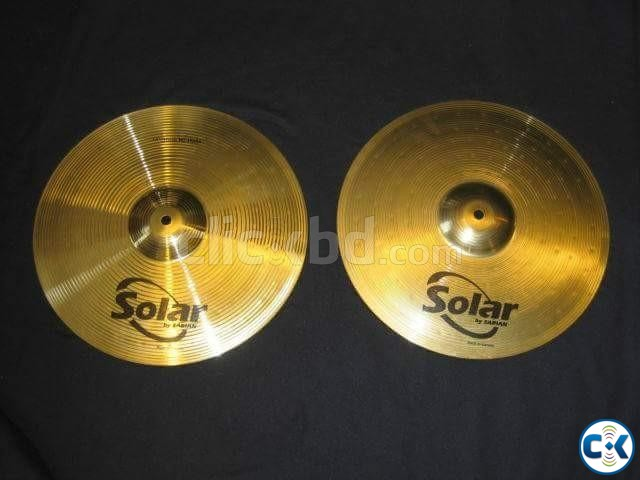 Brand new solar by sabian hihet made in canada | ClickBD large image 0