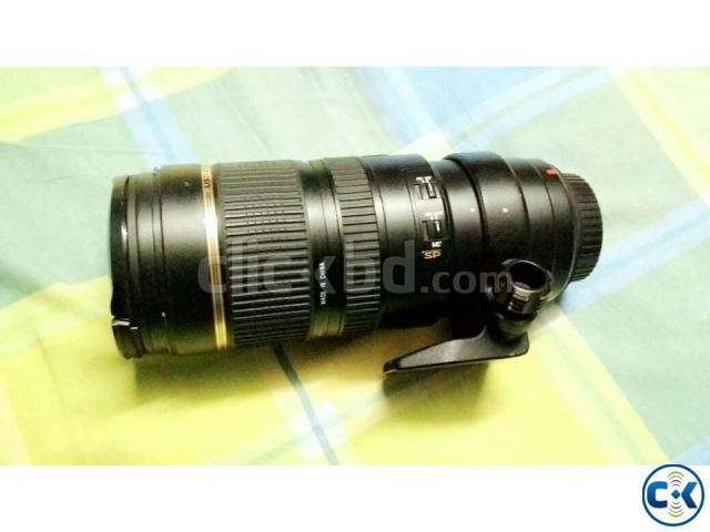 Tamron SP 70-200mm f 2.8 Di VC USD Zoom Lens for Canon | ClickBD large image 2