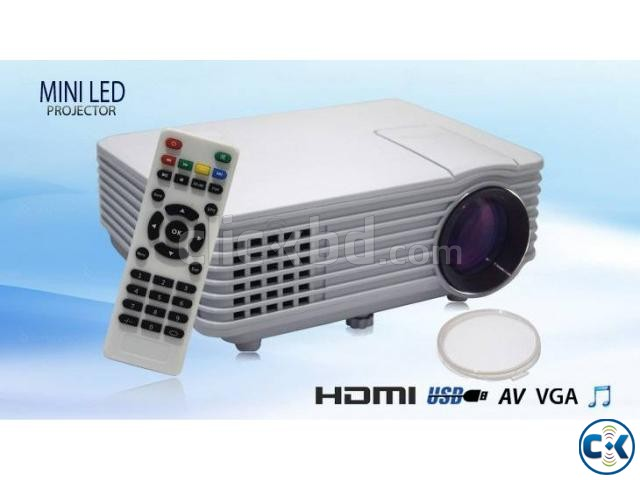 RD-805 Multimedia LED Projector | ClickBD large image 0