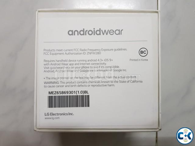 Brand New LG Watch Sport From USA | ClickBD large image 3