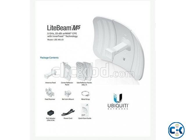 Ubiquiti LiteBeam M5 AC for Radio-link connectivity 25km  | ClickBD large image 2
