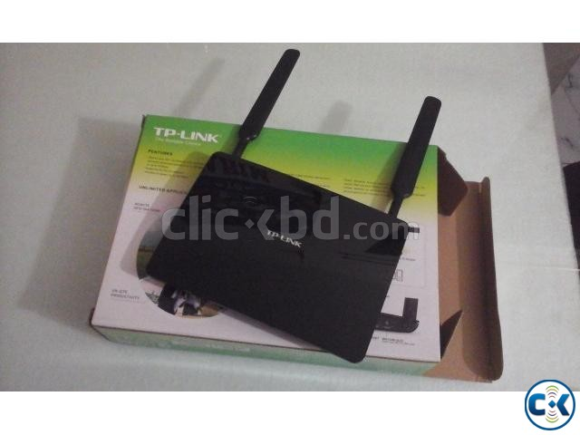 Sim Supported TL-MR6400 Router | ClickBD large image 0