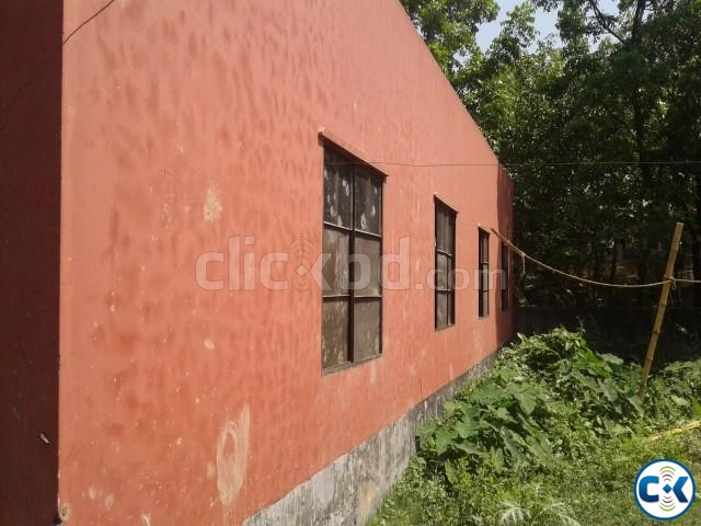2.5 khata fresh land with Home | ClickBD large image 1