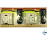Remote control switch fan regulator