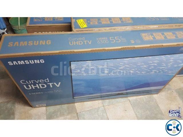 55 Samsung KU6300 UHD 4K Smart Curved TV | ClickBD