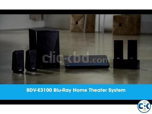 Sony BDV-E3100 5.1ch 3D Blu-Ray Home Cinema System | ClickBD large image 1