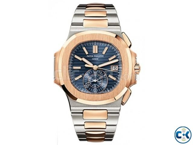 Patek Philippe - Nautilus- Men s wrist watch | ClickBD large image 0