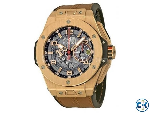 Hublot Big Bang Ferrari Mens wrist watch | ClickBD large image 0