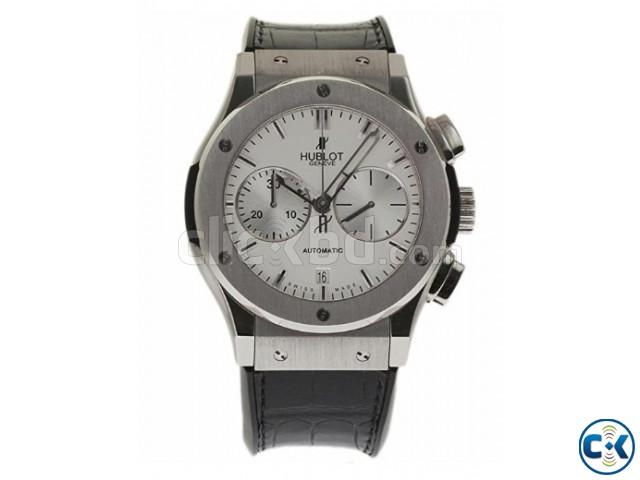 Hublot Classic Fusion swiss-automatic men s wrist watch | ClickBD large image 0
