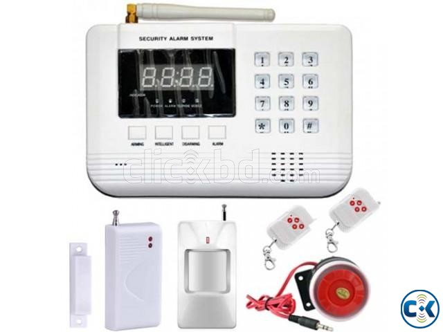 GSM PSTN Wireless Smart Security Alarm System Package   ClickBD large image 0
