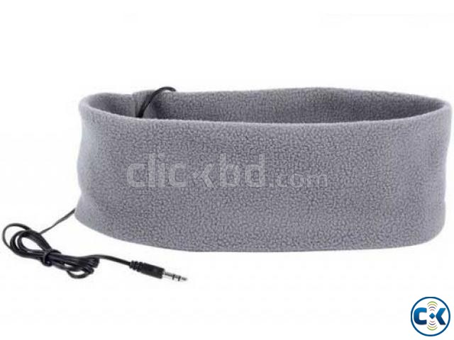 Sports Music Headband Sleeping Mobile Headphones | ClickBD large image 1