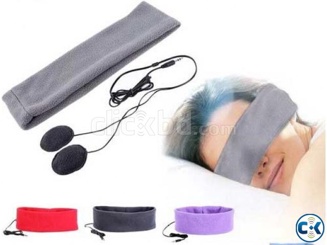 Sports Music Headband Sleeping Mobile Headphones | ClickBD large image 2