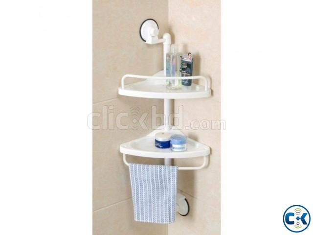 2 Layer Bathroom Shalves | ClickBD large image 0