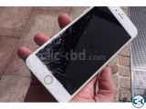 Apple iPhone 6 Plus Cracked Broken Glass and LCD Phone Scree