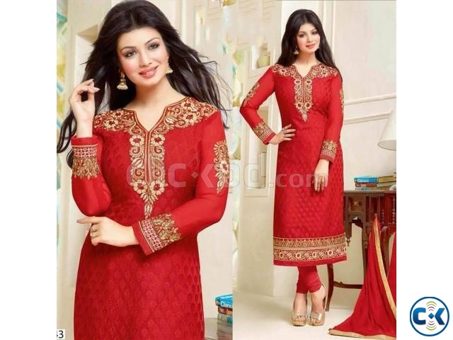 Georgette Anarkali Dress For Women | ClickBD large image 0