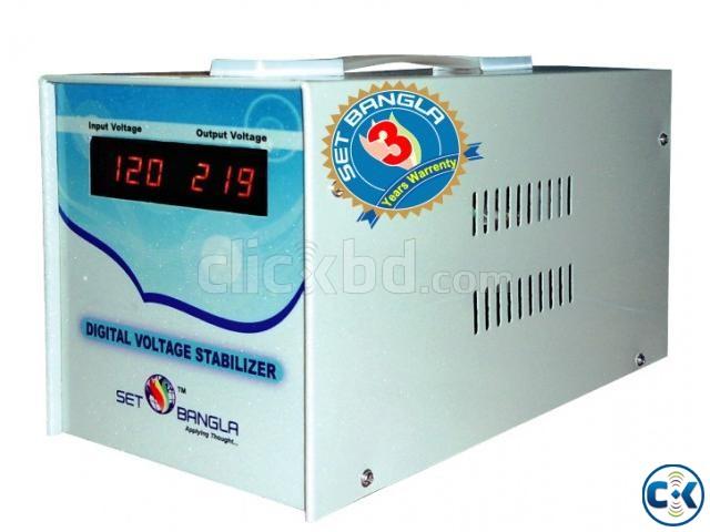 Digital Voltage Stabilizer DS-1.5kva | ClickBD large image 0