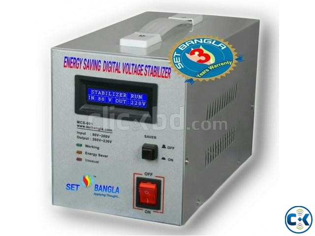 Digital Voltage Stabilizer 1000VA | ClickBD large image 0