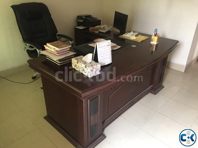 Almost brand new full set office furniture. | ClickBD large image 0