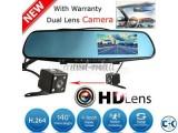 CAR dual camera DVR multimedia Screen - plug and play