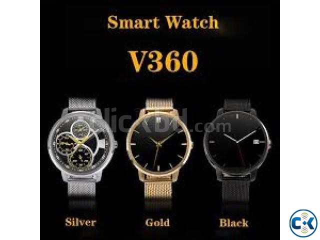 V360 Smart Watch Phone water proof intact Box | ClickBD large image 0